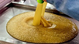 Making amazing handmade candy. The world's largest handmade candy factory.