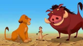 Hakuna Matata (English) Song - The Lion King 3D