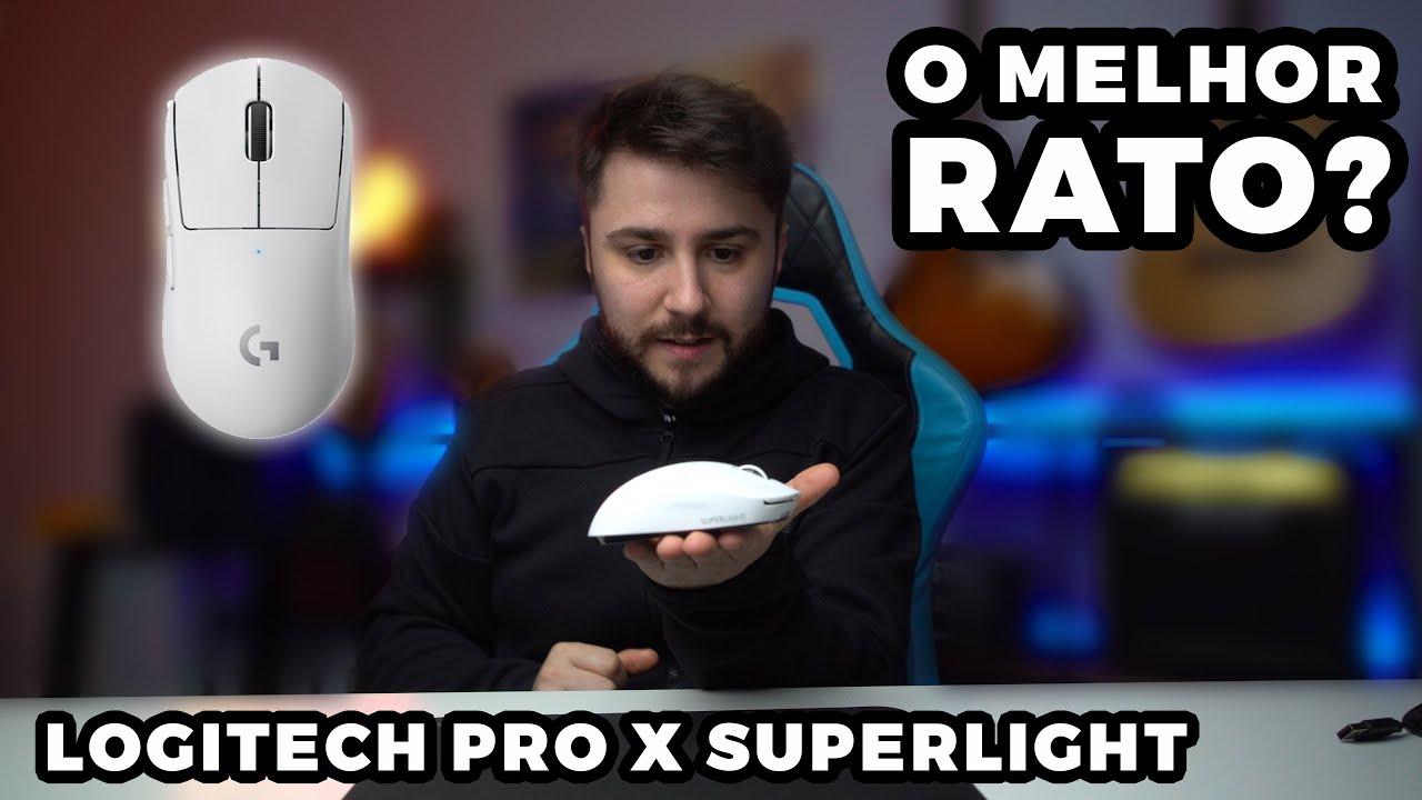Este rato, o Logitech G Pro X Superlight, é a meu...