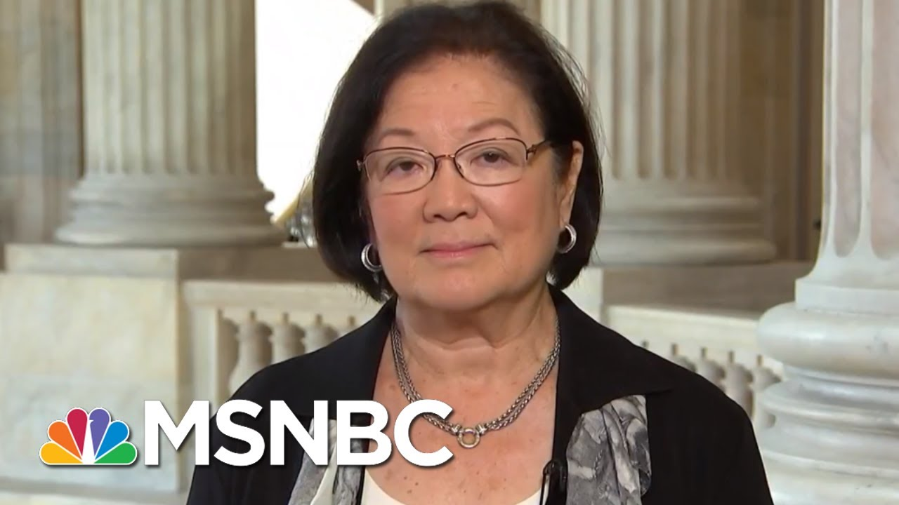 Mazie Hirono On President Trump Travel Ban Decision: 'Dark Day For Our Country' | MTP Daily | MSNBC thumbnail