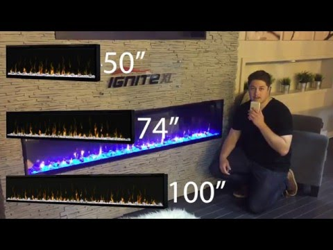 Dimplex Ignite XL Built in Electric Fireplace Flush mount LED Product Review