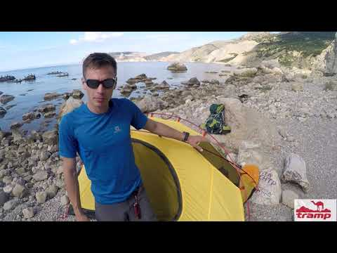 Смотреть видео Палатка Tramp Sarma 2 v2