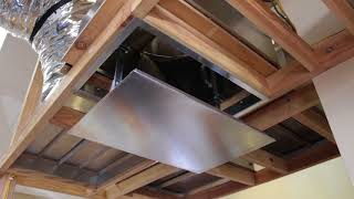Tamarack HV2800 Kaze Whole House Fan Installation Video