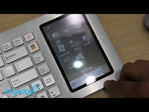 Asus Eee Keyboard With PC and Touchscreen Caught Looking Great On Video