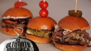 4 Easy Slider Recipes For Mini Burger Madness