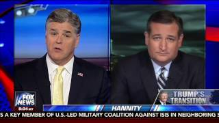 Sen. Cruz on Hannity - Jan. 5, 2017