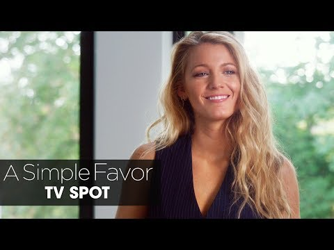 """A Simple Favor (2018 Movie) Official TV Spot """"Confessions"""" – Anna Kendrick, Blake Lively"""