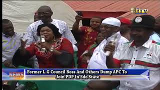 Former council boss and others dump APC for PDP in Edo