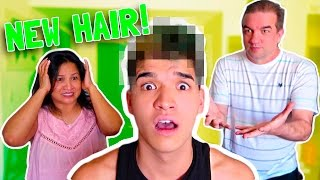 PARENTS HATE MY NEW HAIR!
