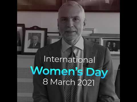 Message by SG of the EEAS Stefano Sannino on International Women's Day - 8 March 2021