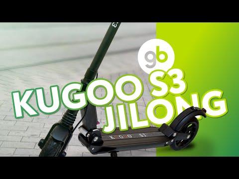 Электросамокат Kugoo S3 Jilong голубой