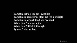 Invincible - Lyrics -  DeStorm | Ray William Johnson | Chester See