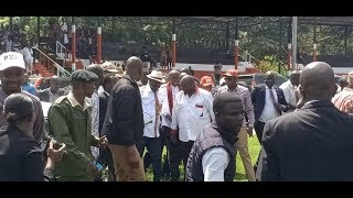 Raila Odinga's arrival during NAROK BBI FORUM