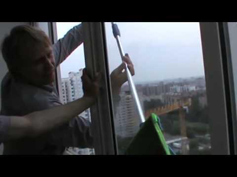 Как помыть стекла балкона за 5 минут