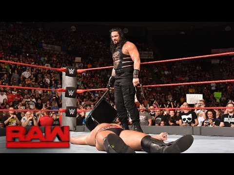 Download Roman Reigns vs. Rusev - United States Championship Match: Raw, Sept. 26, 2016 HD Mp4 3GP Video and MP3