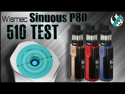 YouTube Video zu Wismec Sinuous P80 Akkuträger 80 Watt