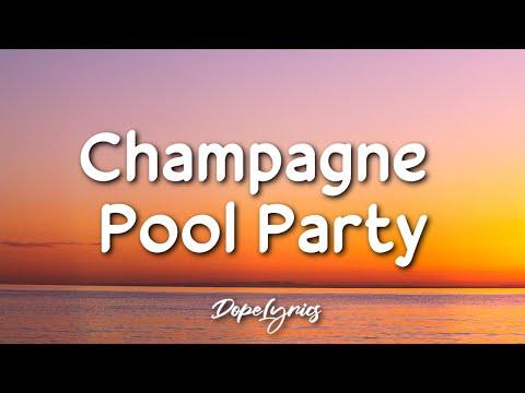 Lara Marina - Champagne Pool Party (Lyrics) 🎵