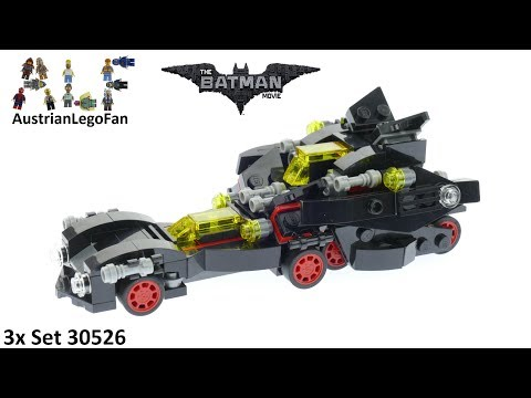 Vidéo LEGO The Batman Movie 30526 : The Mini Ultimate Batmobile (Polybag)