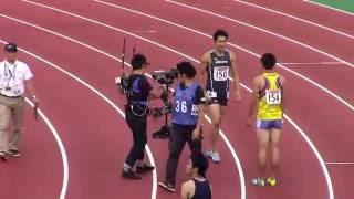 20秒11の日本歴代2位!飯塚が激戦を制す!