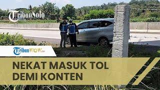 Terungkap Alasan Para Bocah Nekat Masuk Tol Solo-Semarang, Demi Konten agar Dapat Respons dan Uang