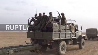 Syria: Syrian Army targets militant-controlled areas in Homs Province