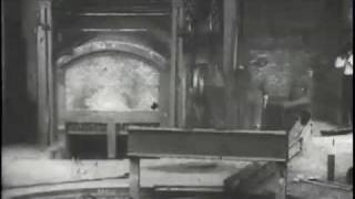 1904 Tapping a Furnace, Westinghouse Works (Part 1 of 2)