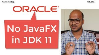 JavaFX will be removed from JDK 11