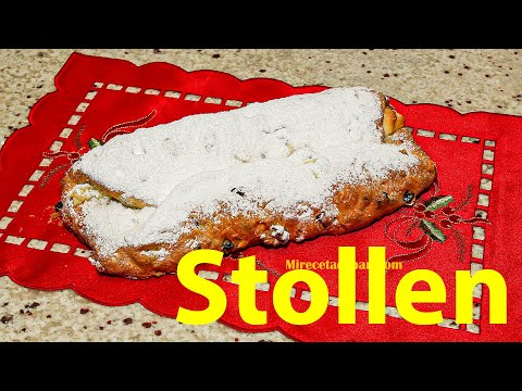 Receta de Stollen paso a paso