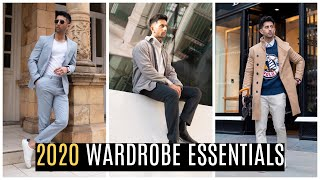 2020 Must Have Wardrobe Essentials | Mens Fashion