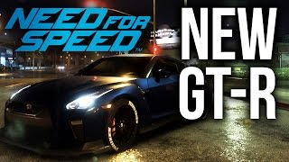 Need For Speed 2015 - NEW NISSAN GT-R 2017 (NFS 2015 Gameplay)