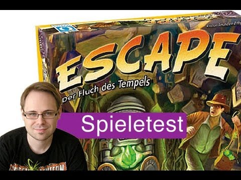 Escape: Der Fluch des Tempels (Spiel) / Anleitung & Rezension / SpieLama