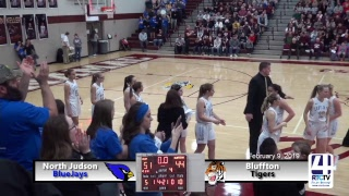 IHSAA Class 2A Girls Basketball Regional #9 @ Winamac - Bluffton vs North Judson
