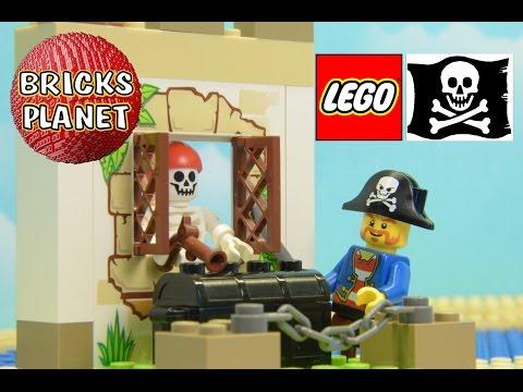 Vidéo LEGO Juniors 10679 : La chasse au trésor des pirates