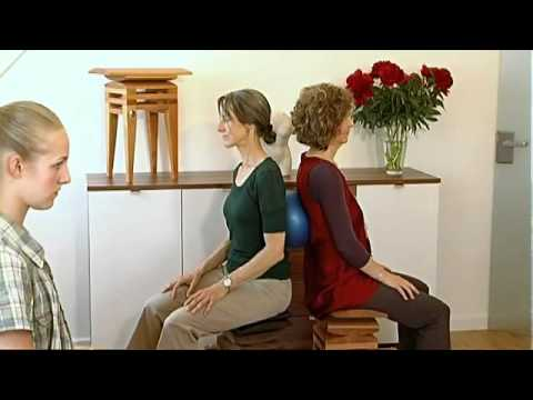 Bildung von Zysten im Kniegelenk