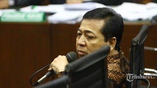 Setya Novanto Buka Suara soal Selnya yang Disidak Ombudsman