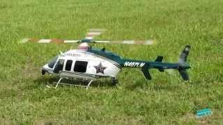 RC Orange County Florida Sheriff Bell 407 Scale Helicopter