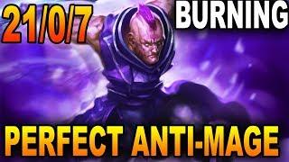 The PERFECT PERFORMANCE Anti-Mage - Burning Dota 2