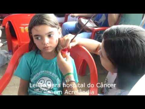 Leilão para hospital do Câncer de Barretos em Acrelândia.