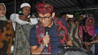 Saat Sandiaga Uno Salah Ucap Bahasa Madura, Pendukungnya pun Sontak Tertawa