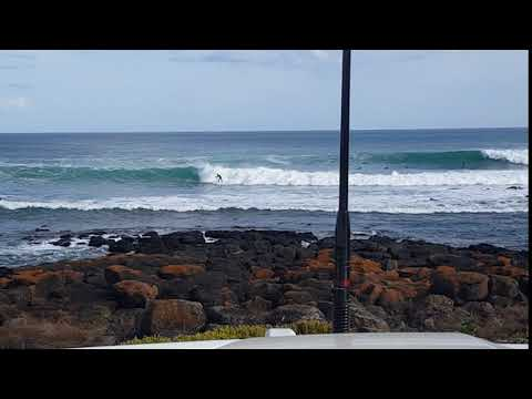 Solid swell at Port Fairy