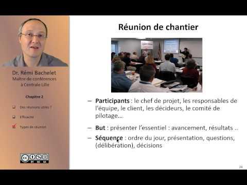 Vidéo Les 4 types de réunions