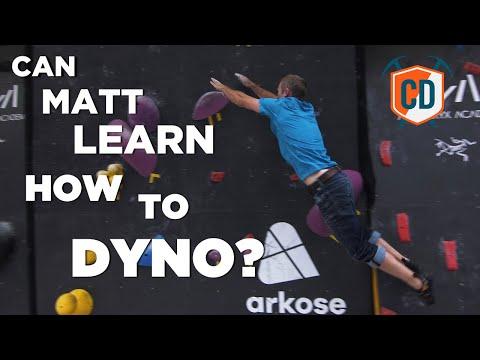 Matt Learns To Dyno: Arc'teryx Alpine Academy | Climbing