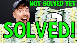 Mr Beast $100,000 Riddle SOLVED!! Steps 1 - 27 (OLD VERSION)