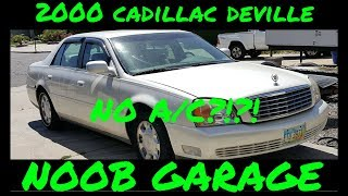 2000 Cadillac Deville mode door actuator replacement.