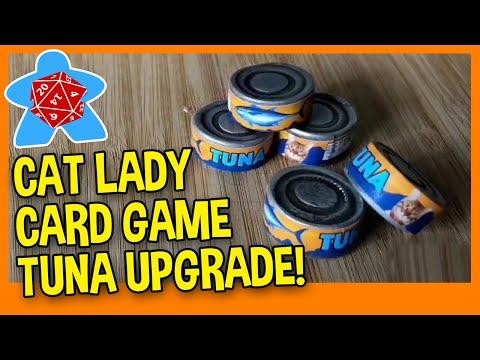 Cat Lady Polymer Clay Tuna Can Upgrade