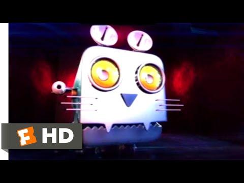 Space Guardians (2017) - Crazy Robo Cat Scene (3/10) | Movieclips