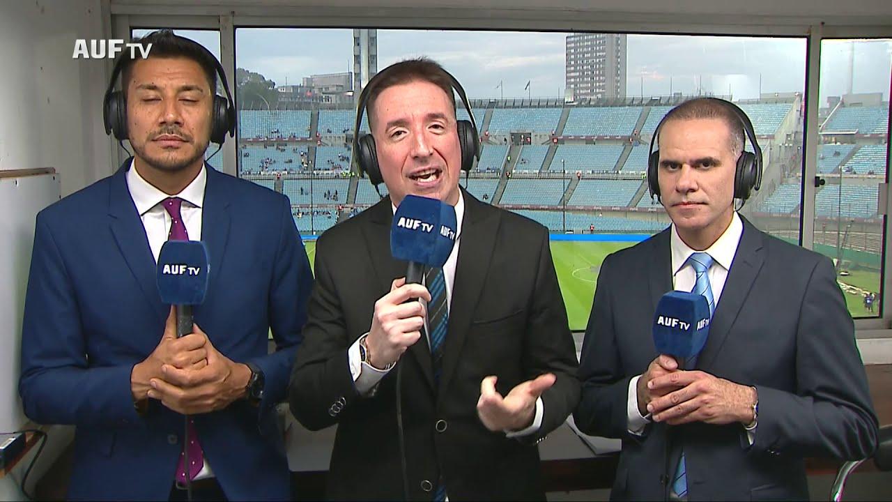 Primera transmisión de AUF TV en el Estadio Centenario | Uruguay 1 - 0 Perú | Fecha FIFA