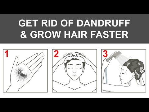 Nach der Maske für das Haar das Shampoo aufzutragen,