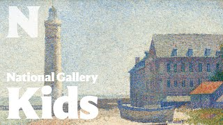 The Lighthouse at Honfleur (Seurat)