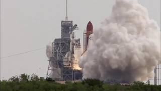 Полет в космос своими глазами  Записи камер, установленных на ракете носителе  В 2017